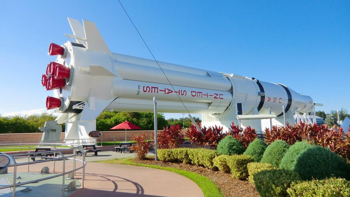 Raketa Saturn V v Kennedyho vesmírném středisku na Floridě | © Reinhard Link/Flickr.com