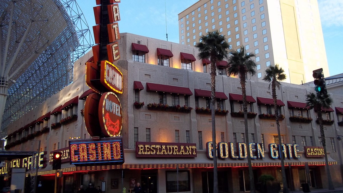Hotel Golden Gate v Las Vegas | © Time Anchor