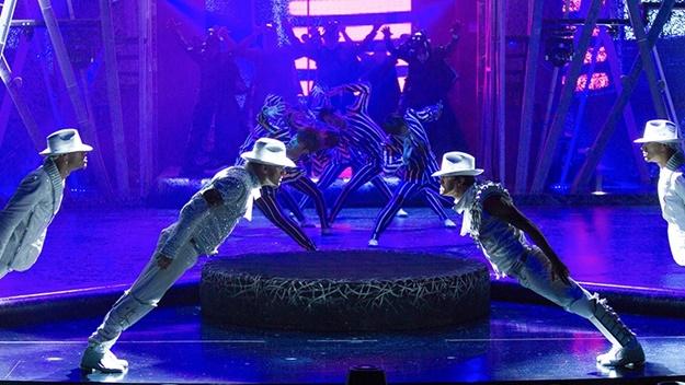 Michael Jackson a Smooth Criminal v Las Vegas | © Cirque Du Soleil