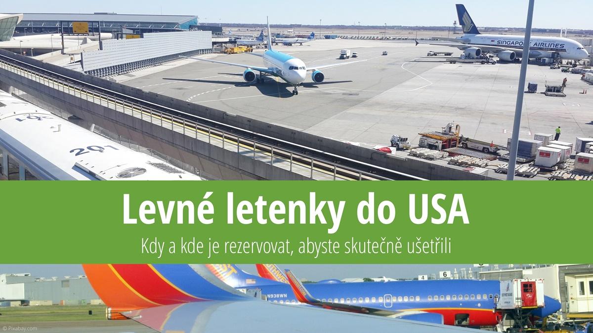 Levné letenky do USA