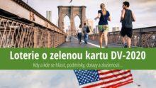 Loterie ozelenou kartu 2020 (DV 2020): Přihláška, podmínky, zkušenosti
