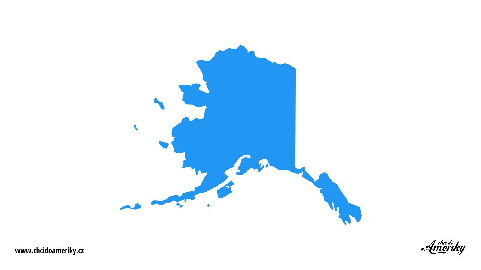 Mapa Aljašky / Kde je Aljaška?