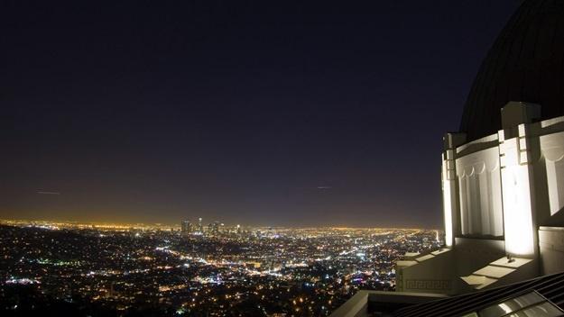 Výhled na Los Angeles z Griffith Observatory   © Schlüsselbein2007