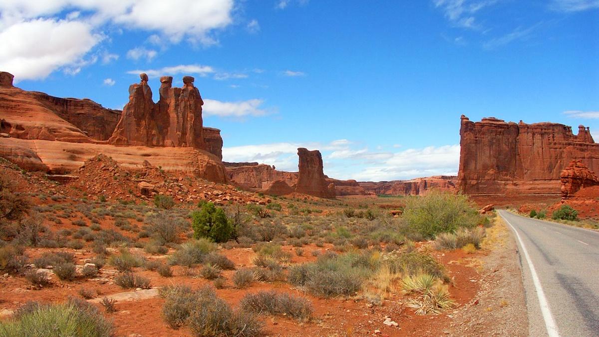 Národní park Arches | © paraflyer