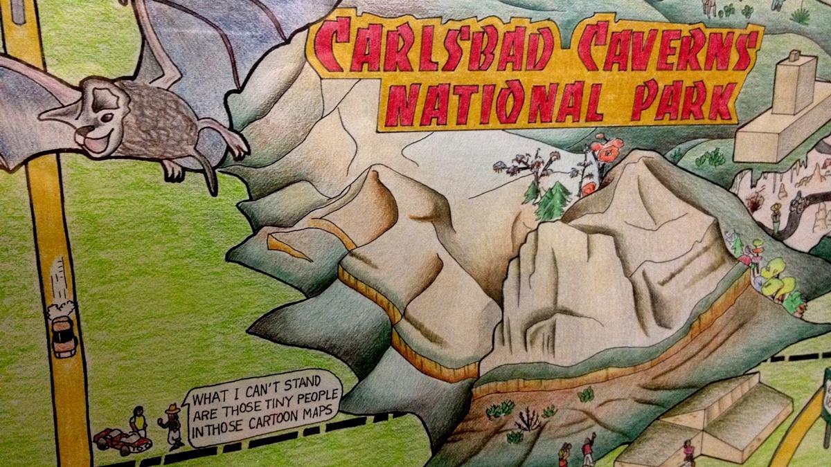Národní park Carlsbad Caverns | © Jason Eppink