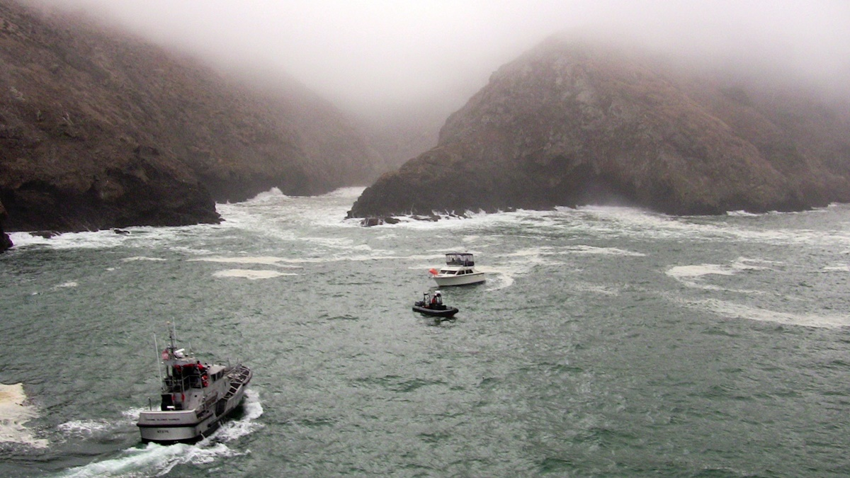 Národní park Channel Islands   © Coast Guard News