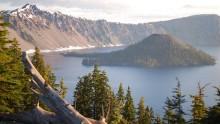 Národní park Crater Lake: Informace, fotky, rady atipy pro návštěvníky