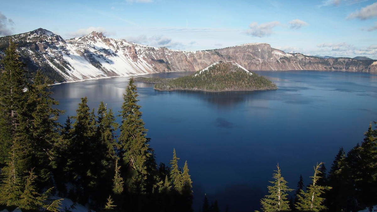 Národní park Kráterové jezero (Crater Lake National Park) | © Cyril Fluck