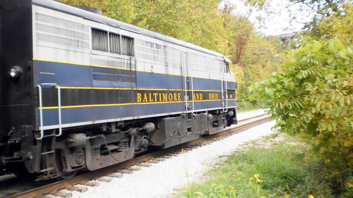 Železnice Cuyahoga Valley Scenic Railroad | © Joanne