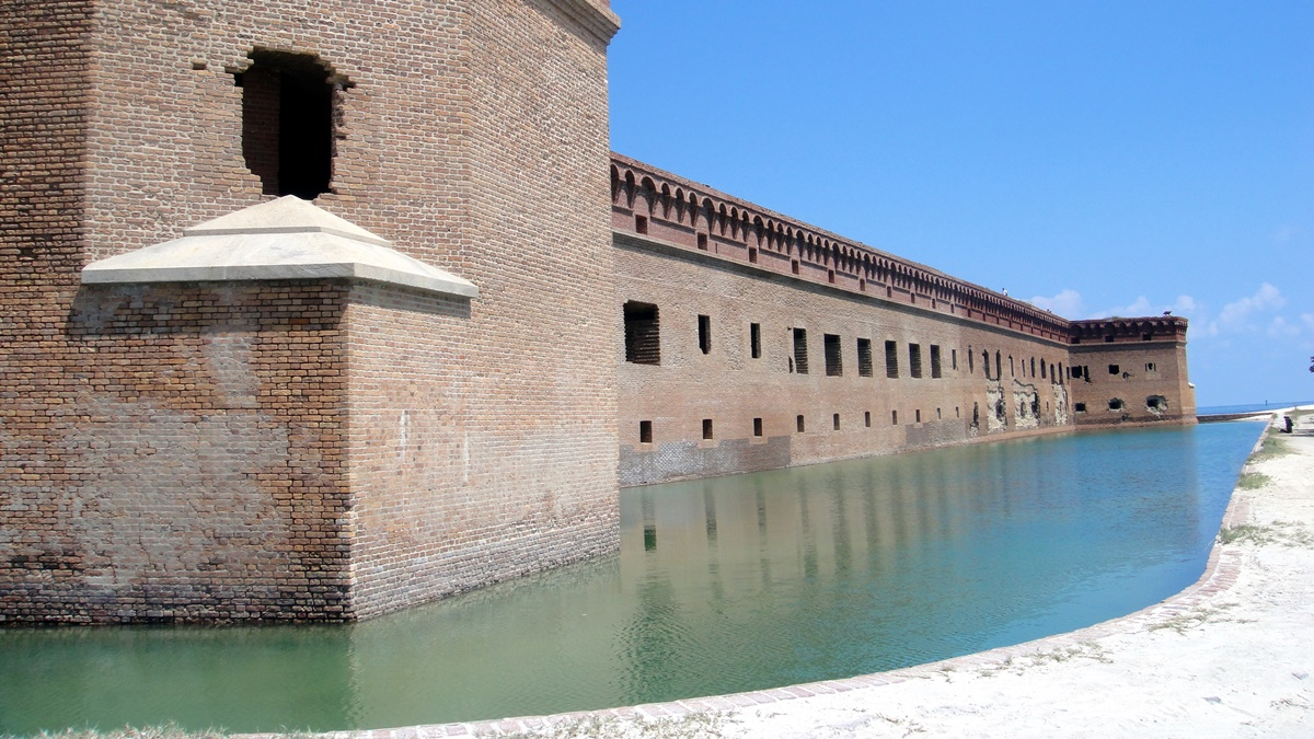Fort Jefferson v Dry Tortugas National Park | © Matt Kieffer