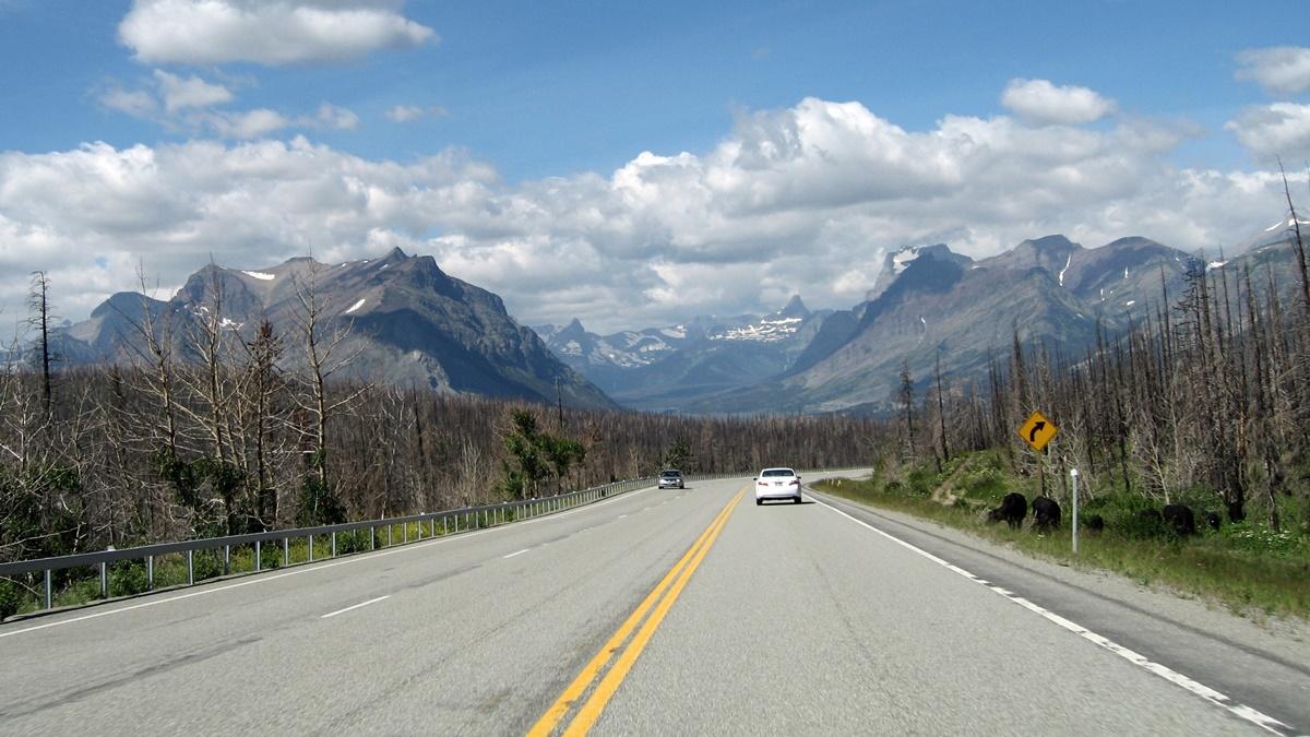 Národní park Glacier v Montaně   © laurascudder