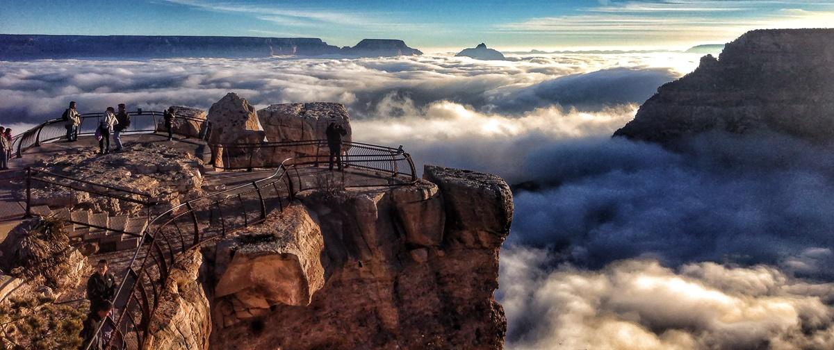Inverze v národním parku Grand Canyon | © Grand Canyon NPS