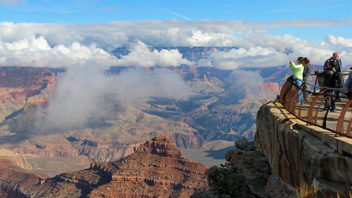 Vyhlídka Mather Point v NP Grand Canyon | © Grand Canyon NPS