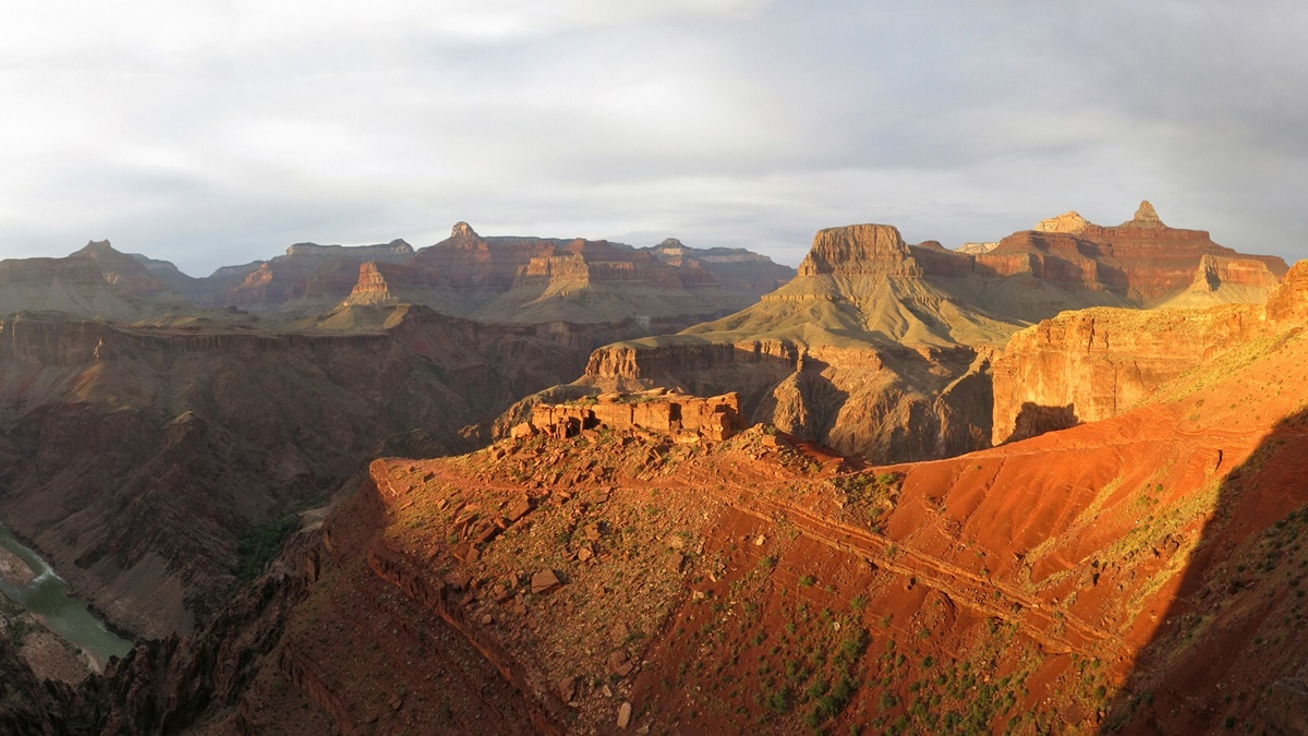 Tipoff na S. Kaibab Trail v Grand Canyonu | © Grand Canyon NPS