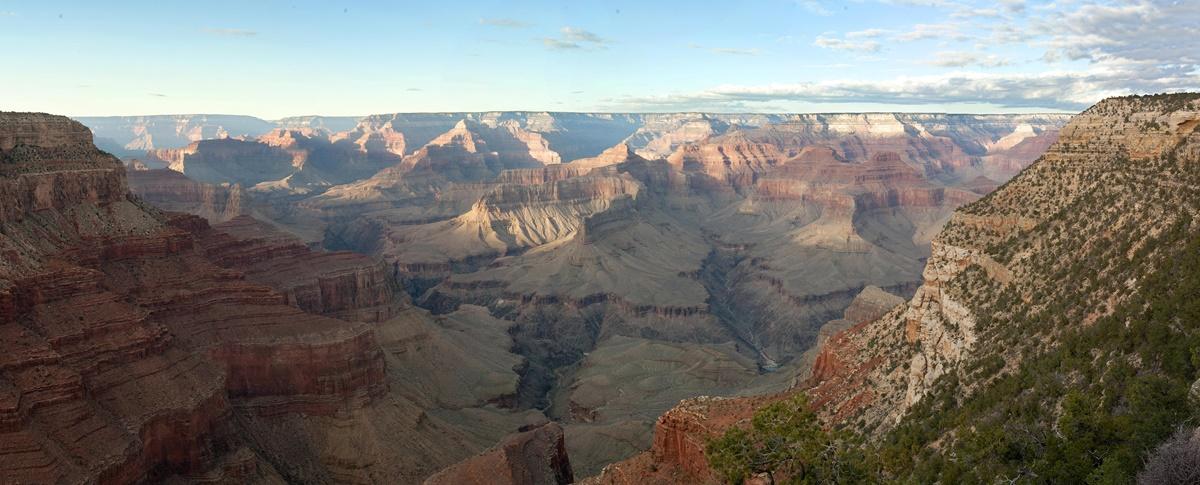 Výhled z Hermits Rest | © Grand Canyon NPS