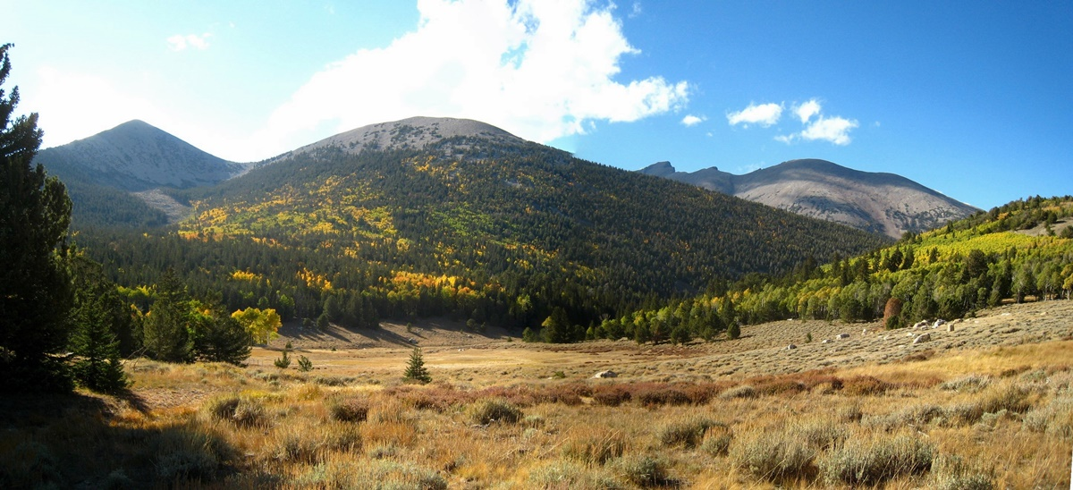 Snake Range v národním parku Great Basin | © Chris M Morris