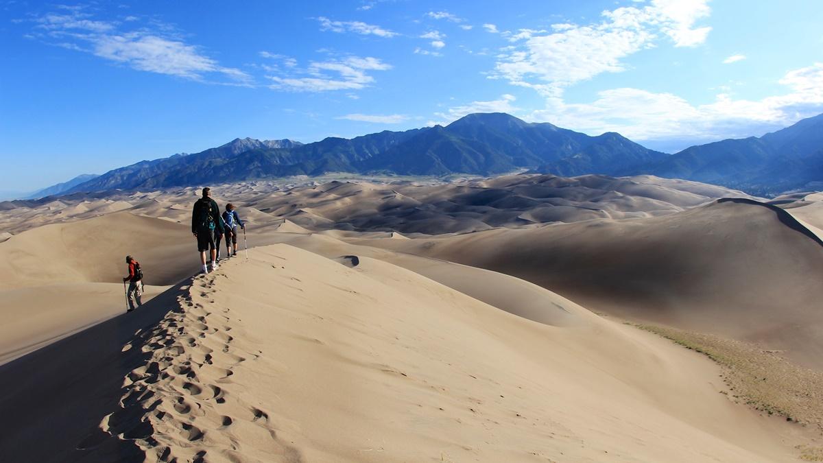 Star Dune v národním parku Great Sand Dunes | © daveynin