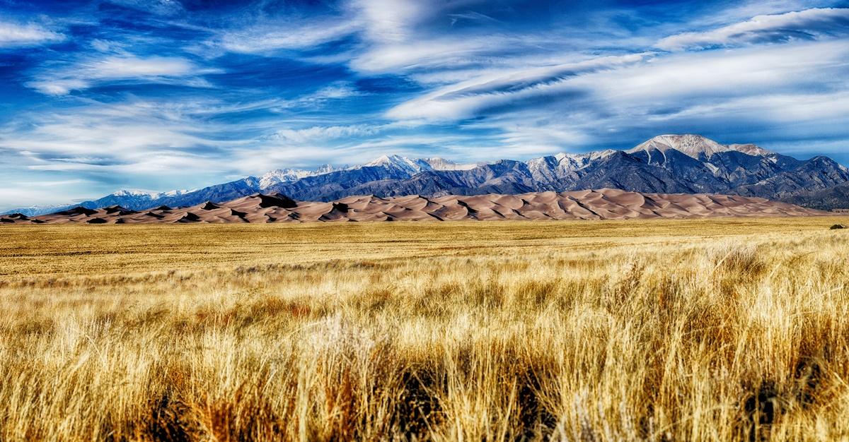 Národní park Great Sand Dunes | © Max and Dee Bernt