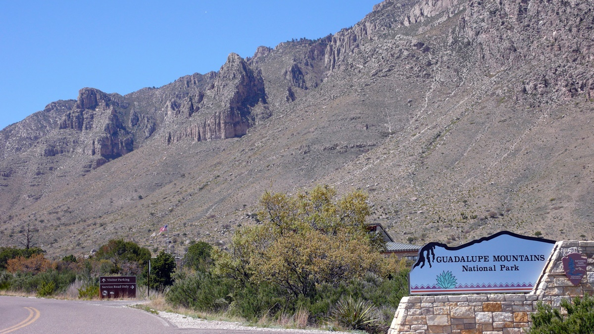 Vstup do národního parku Guadalupe Mountains | © Matthew Rutledge