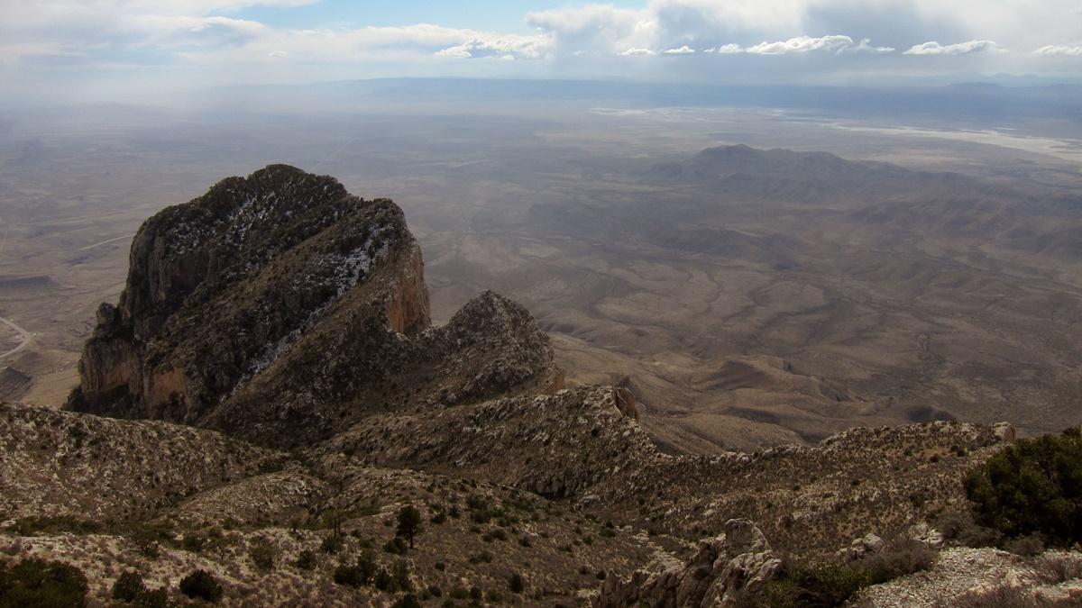 El Capitan v národním parku Guadalupe Mountains | © Miguel Vieira