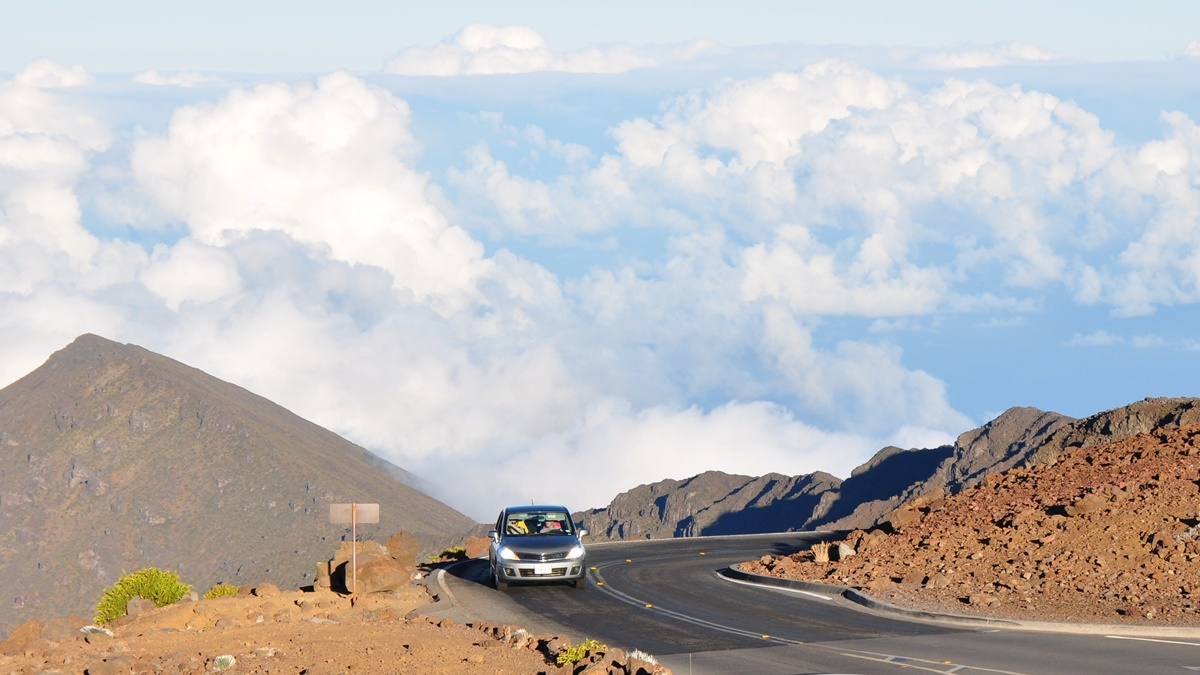 Haleakala Summit Road | © Ted