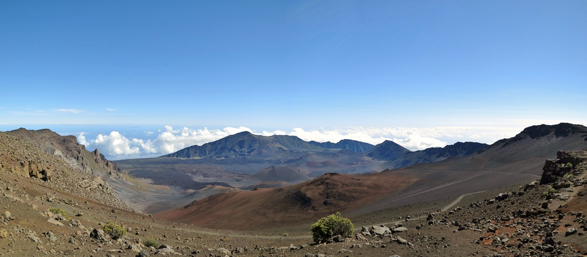 Národní park Haleakala na Havaji | © Eric Titcombe