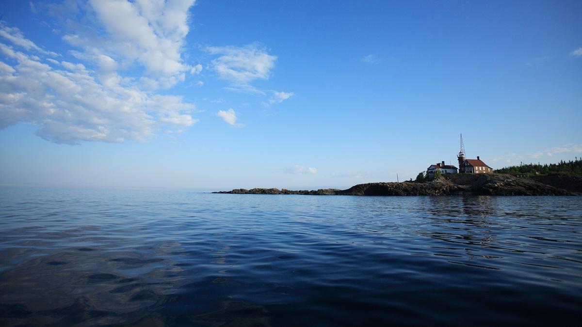 Ostrov Passage Island v národním parku Isle Royale | © Ray Dumas