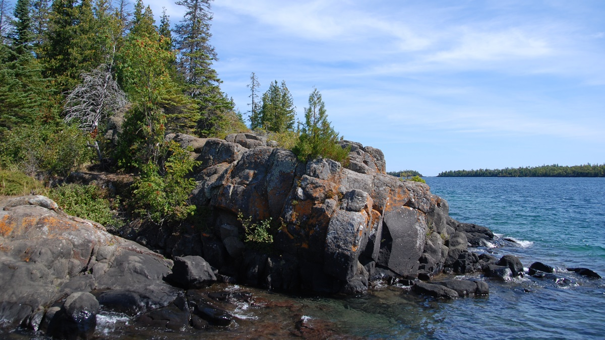 Rock Harbor, Isle Royale National Park | © Joe Ross