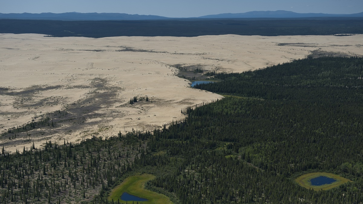 Písečné duny v NP Kobuk Valley | © National Park Service, Alaska Region