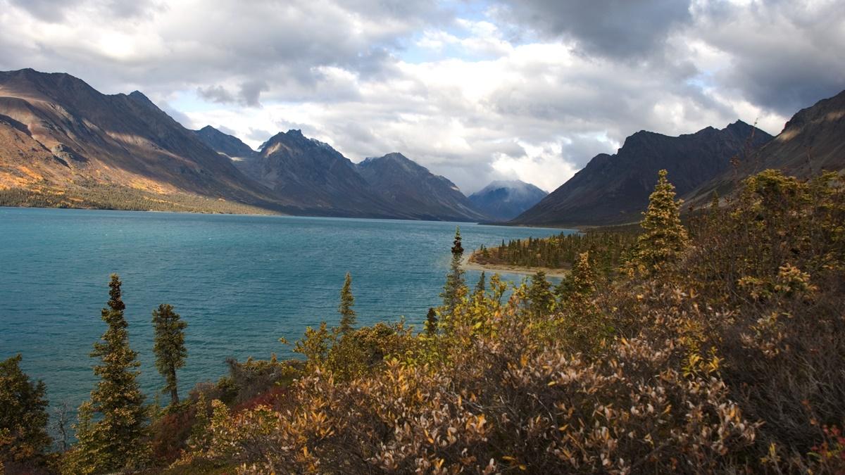 Národní park Lake Clark na Aljašce | © Caitlin Marr