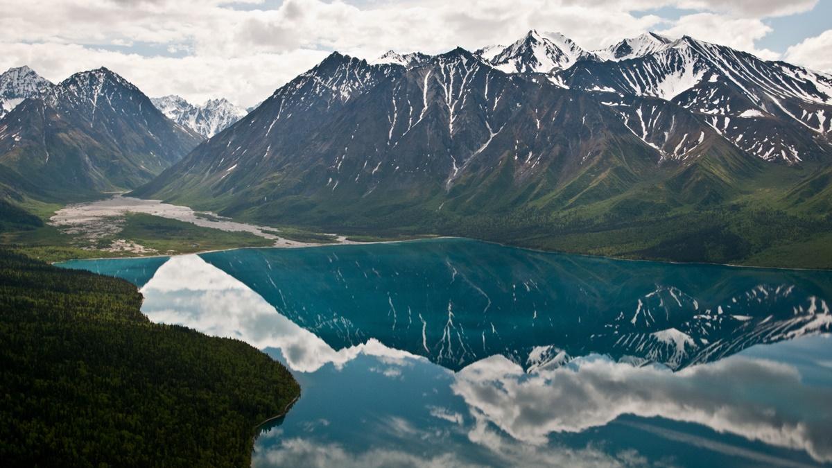 Telaquana Lake, Národní park Lake Clark | © Lake Clark National Park & Preserve