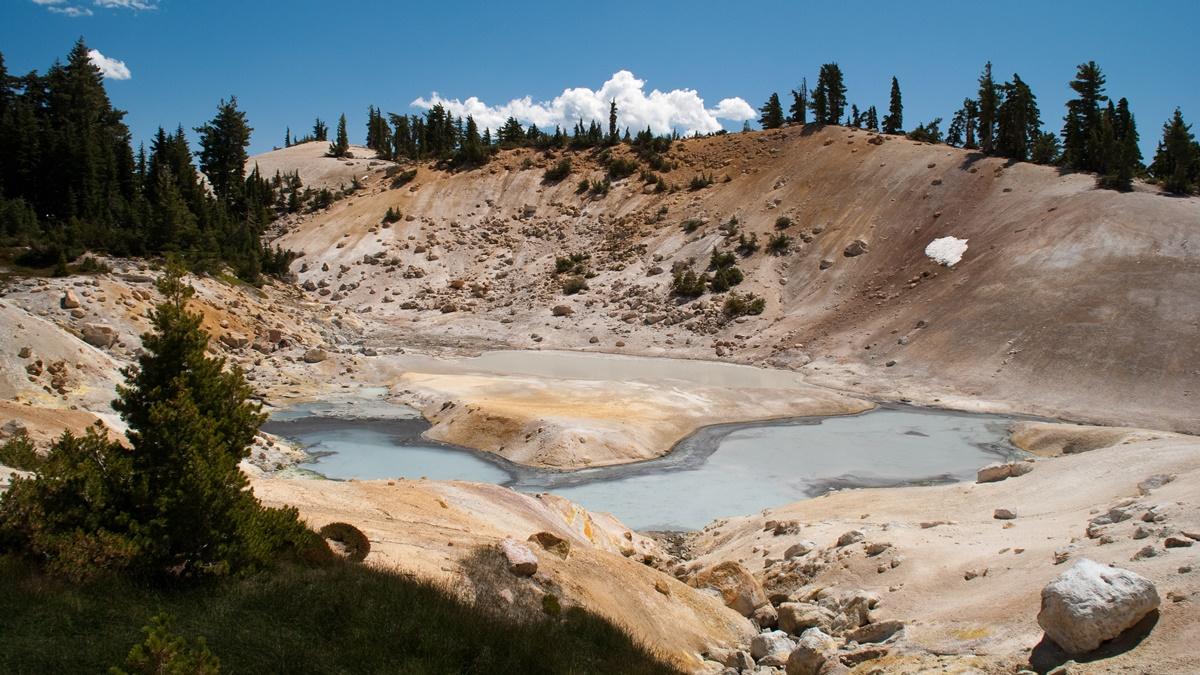 Národní park Lassen Volcanic | © jankgo