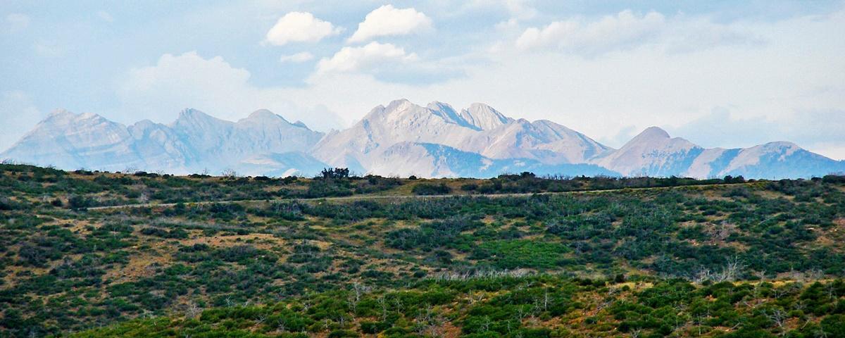 Ute Mountains, Národní park Mesa Verde | © Don Graham