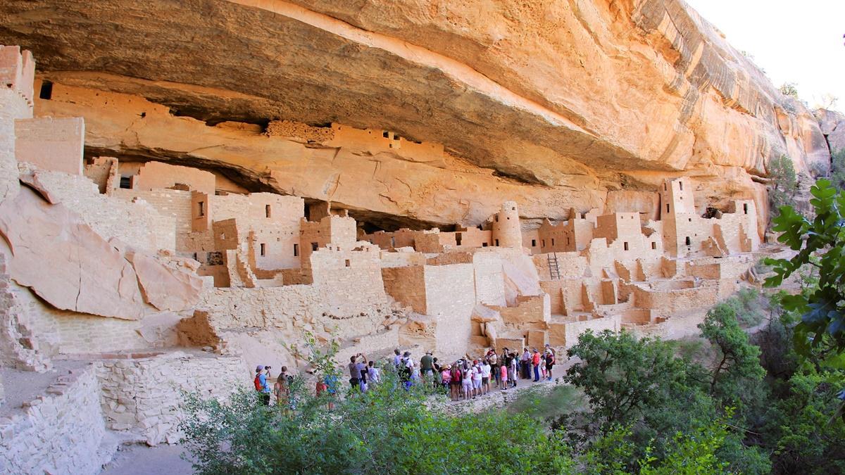 Cliff Palace, Národní park Mesa Verde | © daveynin