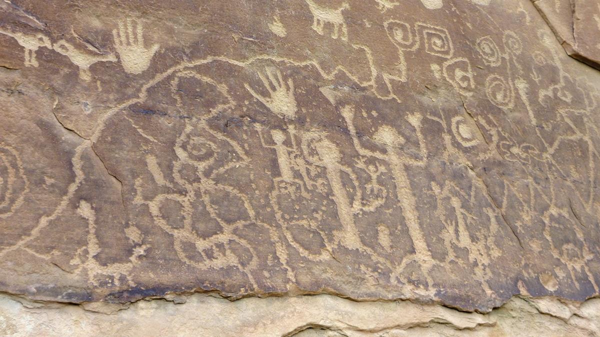 Petroglyph Point, Národní park Mesa Verde | © Frank Kovalchek