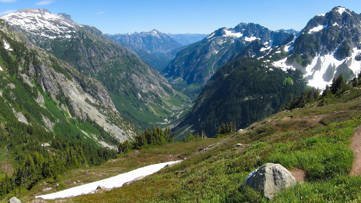 Sahale Arm Trail, Národní park North Cascades   © Miguel Vieira