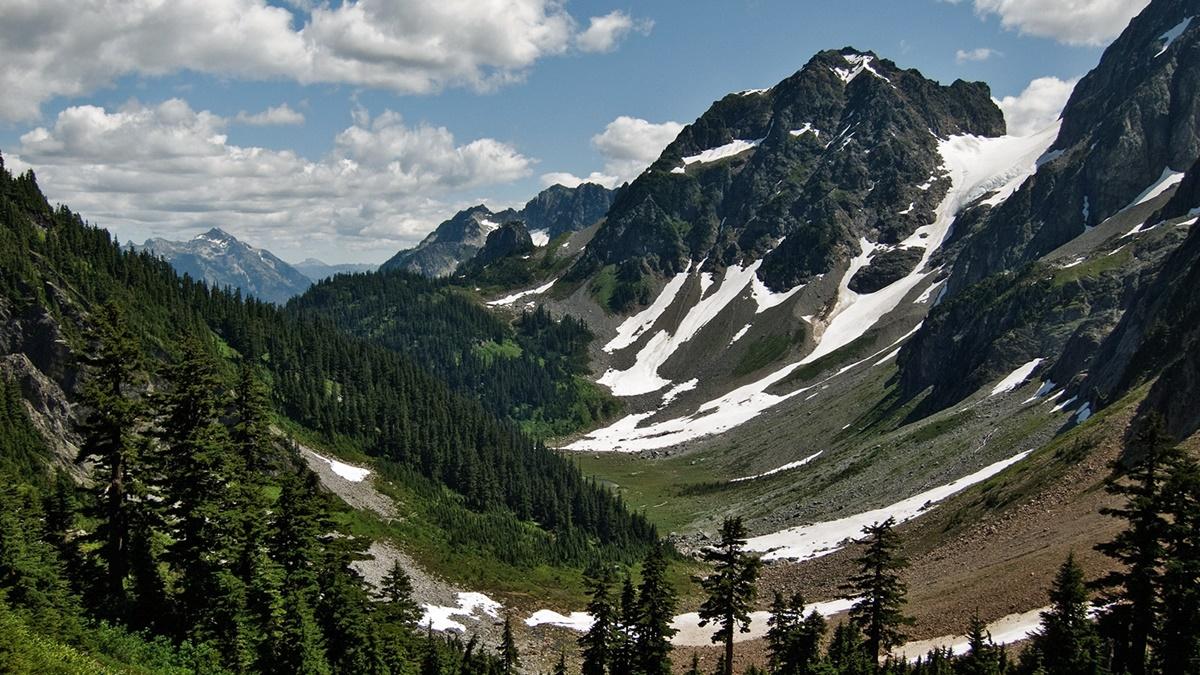 Cascade Pass, Národní park North Cascades | © Curt Smith
