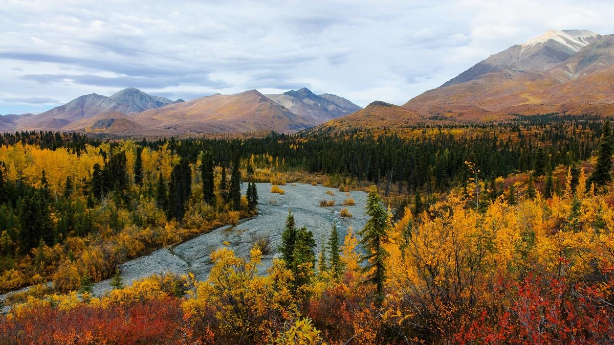 Trail Creek, Národní park Wrangell - St. Elias | © Wrangell-St. Elias National Park & Preserve