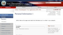 Návod: Jak vyplnit formulář DS-160 pro vízum do USA