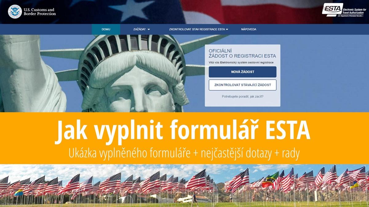 Návod jak vyplnit formulář ESTA nutný pro vstup do USA bez víza | © Pixabay.com