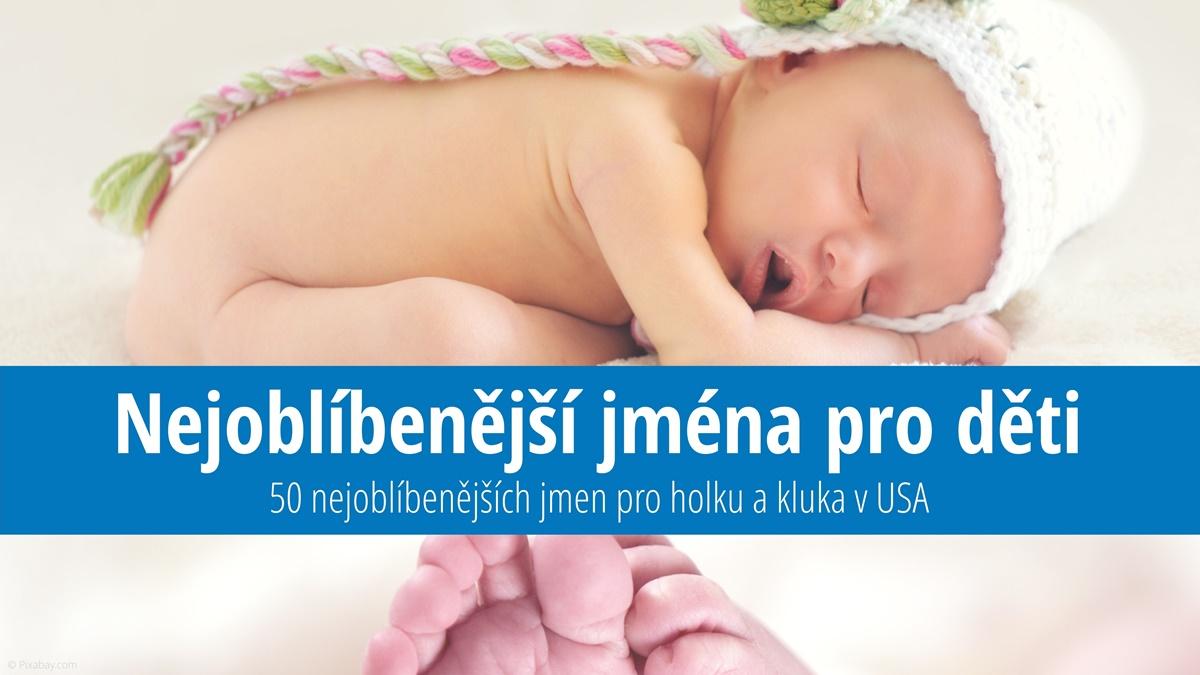 Nejoblíbenější jména pro děti v USA | © Pixabay.com