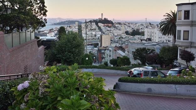 Lombard Street, San Francisco | © Petr Novák