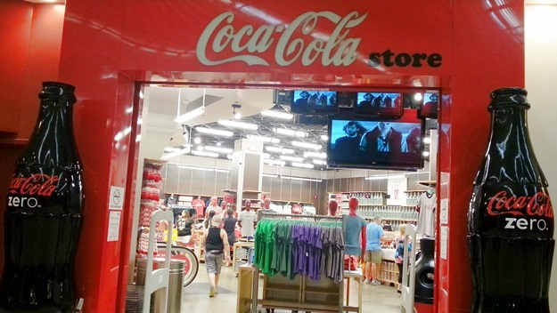 Obchod se suvenýry Coca Cola v Las Vegas | © Petr Novák