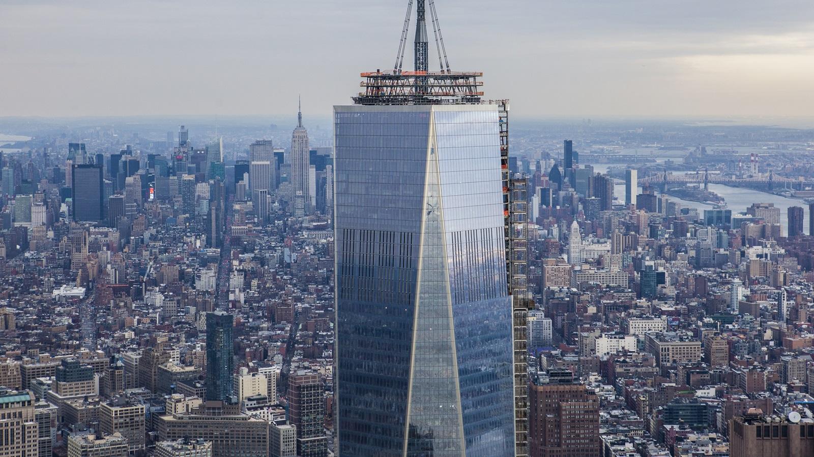 Věž svobody je vysoká přesně 1 776 stop | © Anthony Quintano