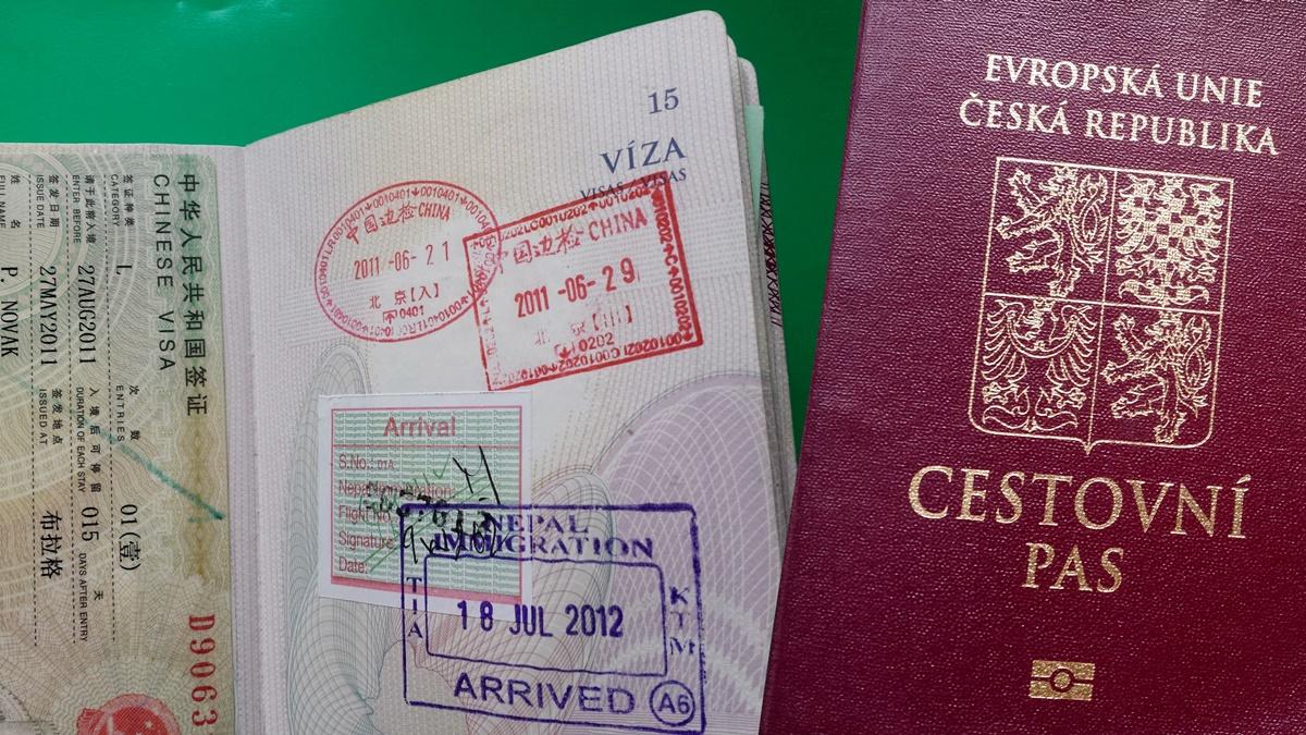 Cestovní pas ČR | copy; Petr Novák