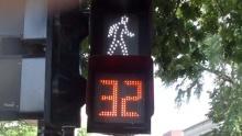 Přechody pro chodce ve Washingtonu mají odpočítávadlo!