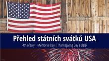 Přehled státních svátků vUSA