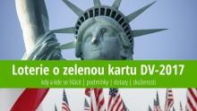 Přihláška do loterie ozelenou kartu do USA (DV 2017) – návod, instrukce azkušenosti