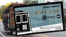 Projížďka historickou tramvají vSan Franciscu nabízí více než jen výhled na město