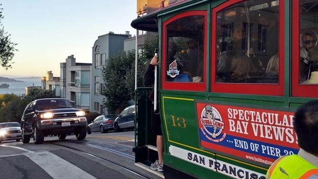 Lanovka San Francisco | © Petr Novák